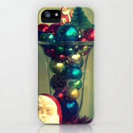 Vintage Christmas iPhone Case