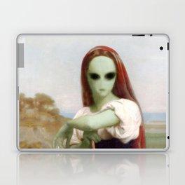 Bouguereau's Alien Shepherdess Laptop & iPad Skin