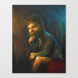Zach Galifianakis Canvas Print