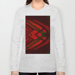 look behind the wooden structure Long Sleeve T-shirt