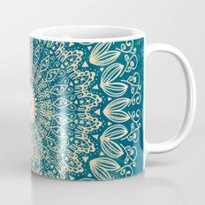 BLUE ORGANIC MANDALA Coffee Mug