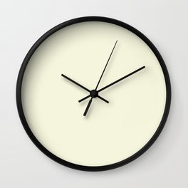 Beige Wall Clock