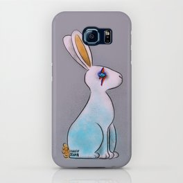 Bunny in Space iPhone Case