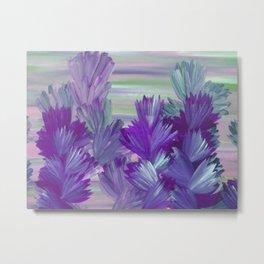 Evening Light Floral Painting 2 Metal Print