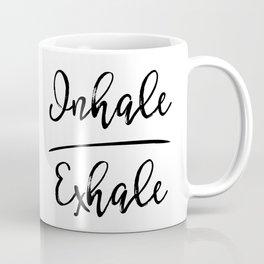 Inhale Exhale Coffee Mug