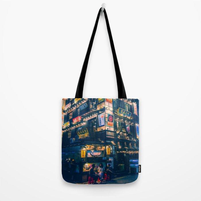 Jongro at night Tote Bag