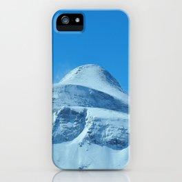 The imposing peak of Gjaidstein, Austria iPhone Case