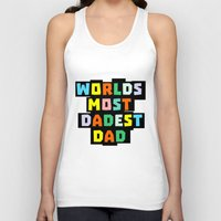 dad Tank Tops featuring Dad by mailboxdisco