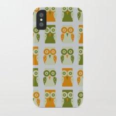 Owls iPhone X Slim Case