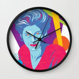 GINA :: Memphis Design :: Miami Vice Series Wall Clock