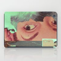 postcard iPad Cases featuring Postcard #34 by Jon Duci