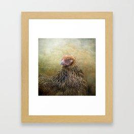 In a Fowl mood... Framed Art Print