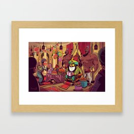His majesty's birthday Framed Art Print