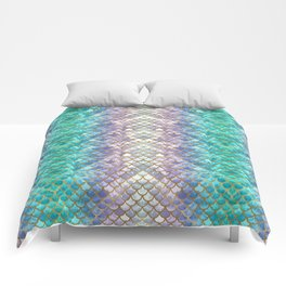 Pretty Mermaid Scales Comforters