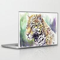 jaguar Laptop & iPad Skins featuring Jaguar by Juan Pablo Cortes