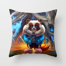MegaNOvania Throw Pillow