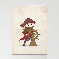 nautical Stationery Cards featuring Nautical by Kyle Anderson