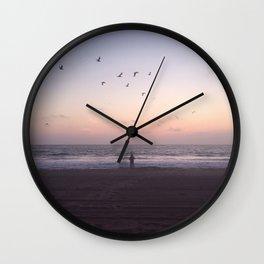 man & the sea Wall Clock