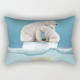 polar ice cream cap 02 Rectangular Pillow