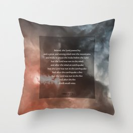 A Still Small Voice Throw Pillow