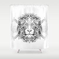 safari Shower Curtains featuring Safari by Joel McDonnell