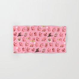 Rosa the Pig Pattern Hand & Bath Towel