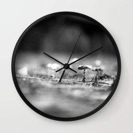 Fairy Town Wall Clock