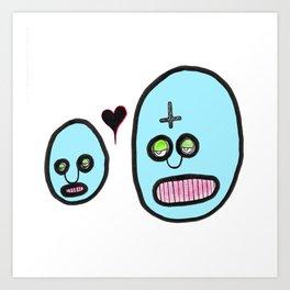 Love is we. Art Print