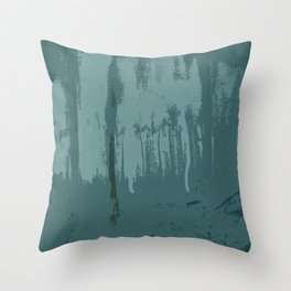 Baffled Sea Throw Pillow