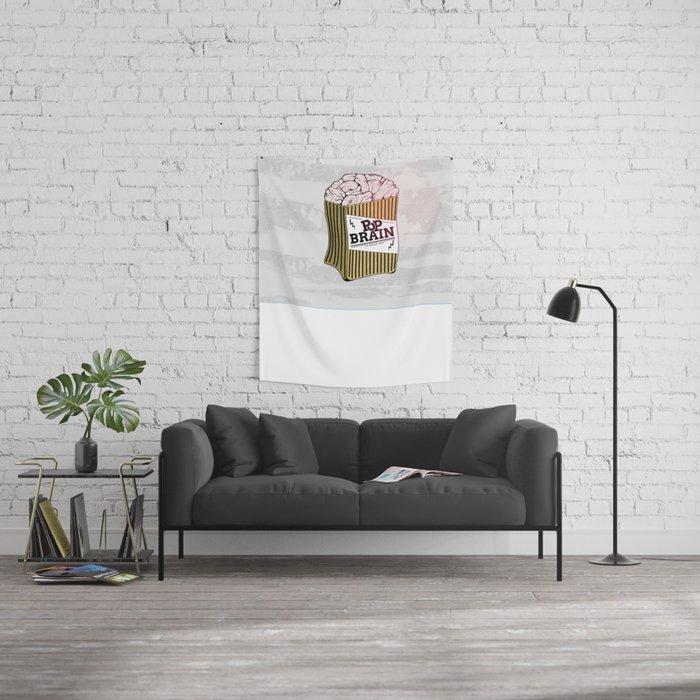 Pop Brain Wall Tapestry
