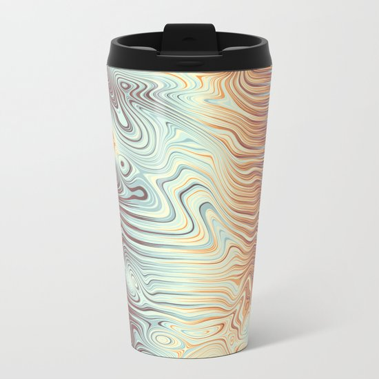 Abstract 358 Metal Travel Mug