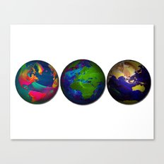 As The World Turns Canvas Print