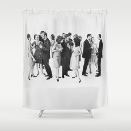 the cold war Shower Curtain