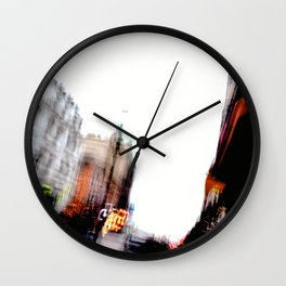 Malmo In Motion 5 Wall Clock