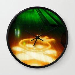 speed bowl Wall Clock