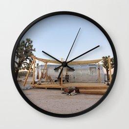 Airstream, Joshua Tree Acres 4 Wall Clock