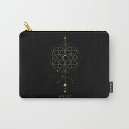 Aries Zodiac Constellation Carry-All Pouch