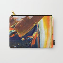 Abstraction - Colored chocolate - by LiliFlore Carry-All Pouch