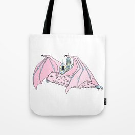 fruit bat city bat Tote Bag