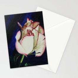 A Rose with a Broken Leaf Stationery Cards