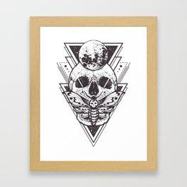 Skulling It Framed Art Print