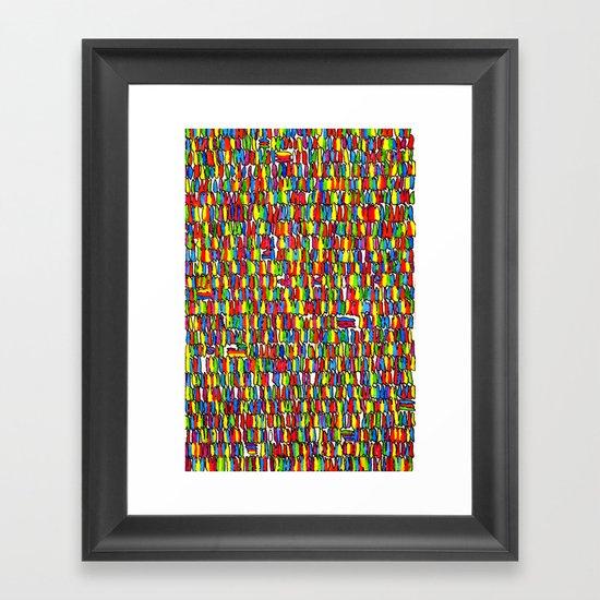 The Masses Framed Art Print