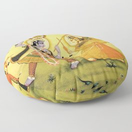 Krishna - Hindu Floor Pillow