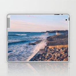 Crashing Waves in Newport Laptop & iPad Skin