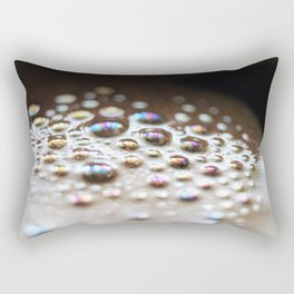 Coffee foam Rectangular Pillow