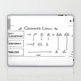 Grimm's Law Laptop & iPad Skin