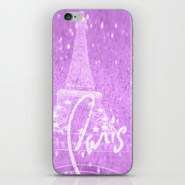 Paris Lilac iPhone Skin