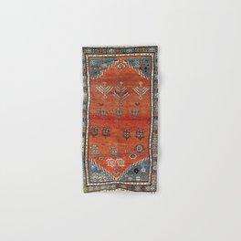 Bakhshaish Azerbaijan Northwest Persian Carpet Print Hand & Bath Towel
