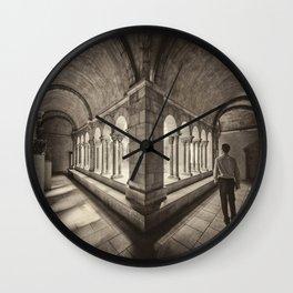 Exploring Cloisters Wall Clock