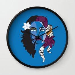 Psychedelic Menu Cover 4 Wall Clock